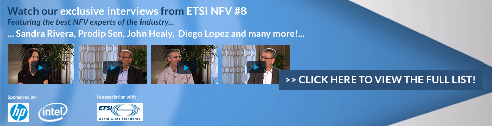 The latest views experts from ETSI NFV- Watch now!